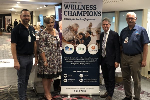 Wellness Champions with Associate Professor Peter Gonski